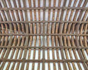 Roof Wood Carving Plain 15th Century Medieval Burrington