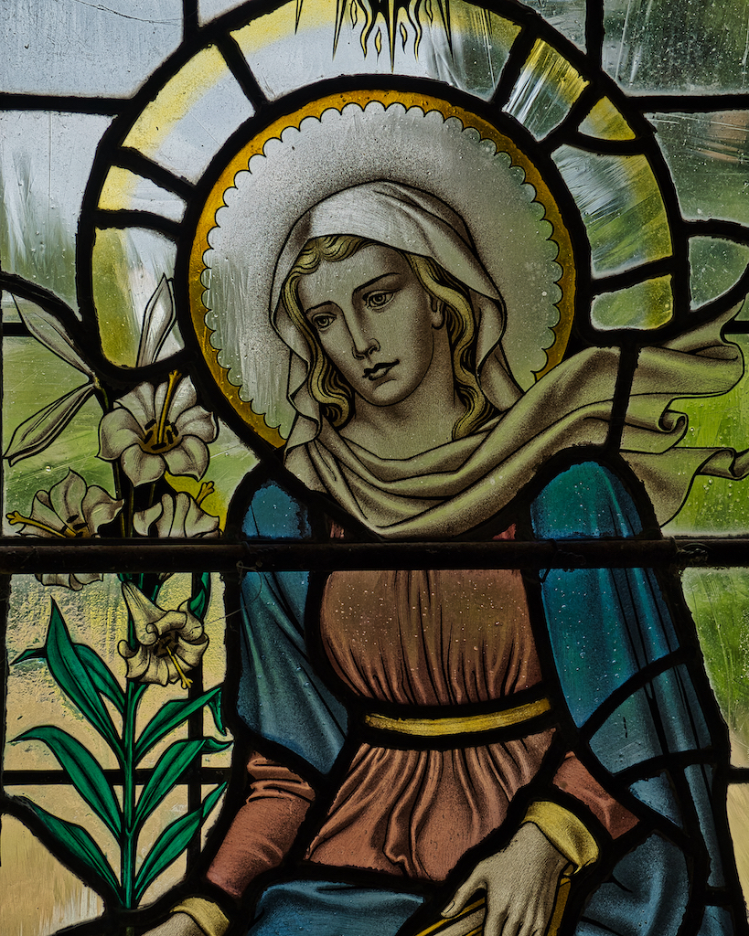 The Virgin Mary by George Cooper Abbs