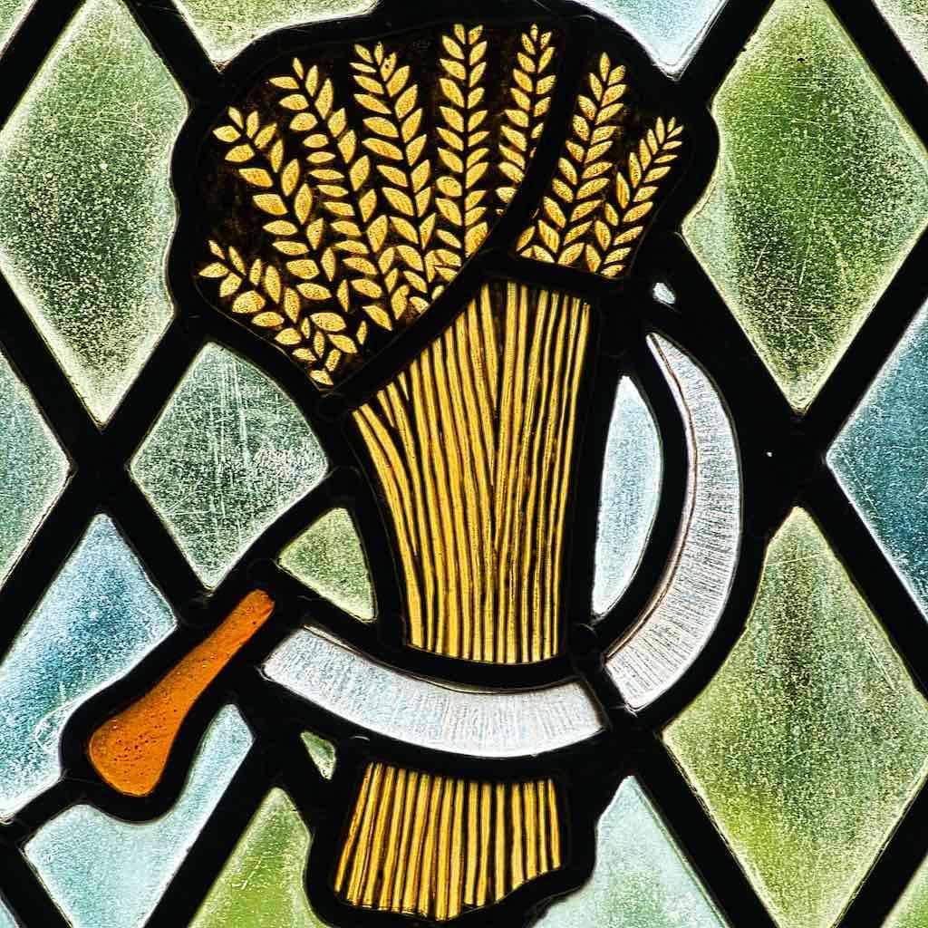 Harvest time at Bradford Church of All Saints