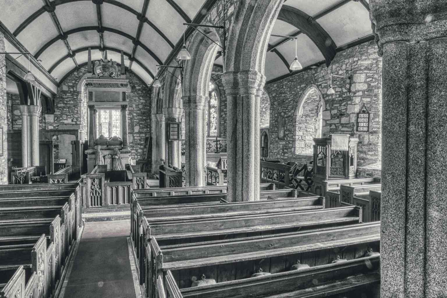 The north aisle with an amazement