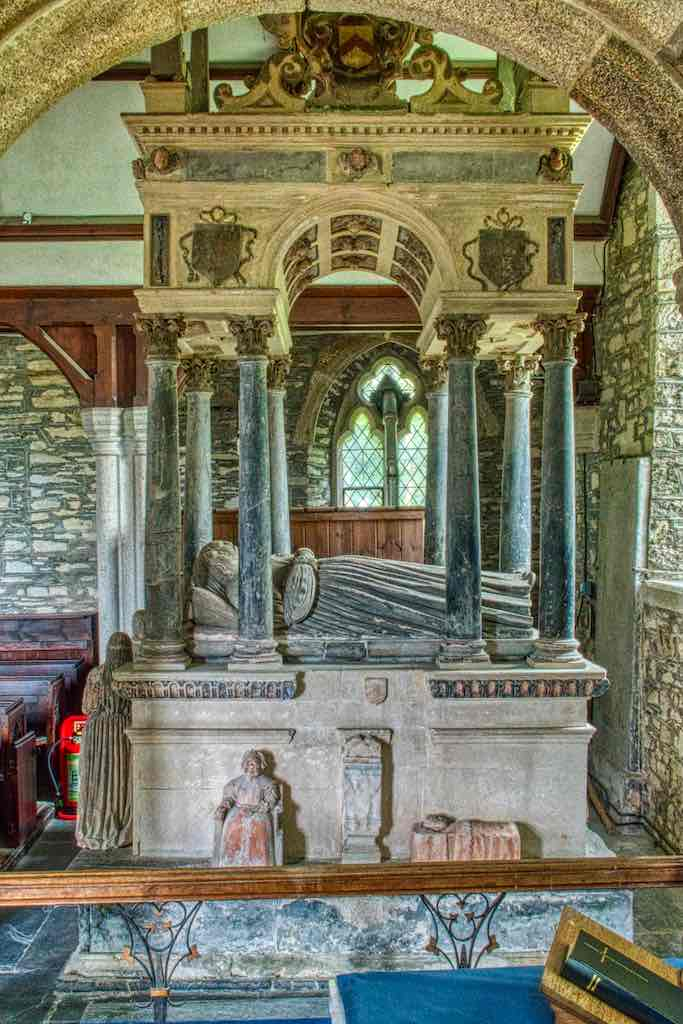 The stunning 17th century monument of Sir Thomas and Lady Margaret Wyse