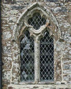 Window Exterior Stonework Stone Carving Plain 14th Century Medieval Marystow