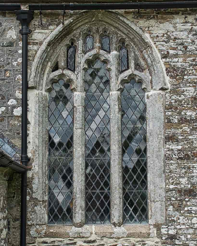 A 15th century window, in granite this time