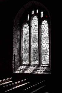 Window Interior Light Peace Black And White 15th Century Medieval Marystow