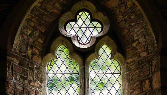 Window Interior Stonework Light Peace 14th Century Medieval Marystow