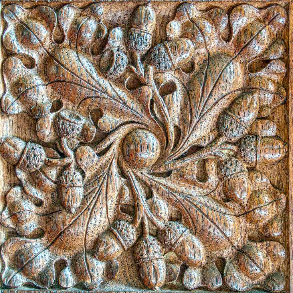 Such a gorgeous piece of carving from the 1903 pulpit