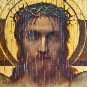 Altar Back Christ Painting Christ Pre Raphaelite Edward Fellowes Prynne 19th Century Victorian Manaton