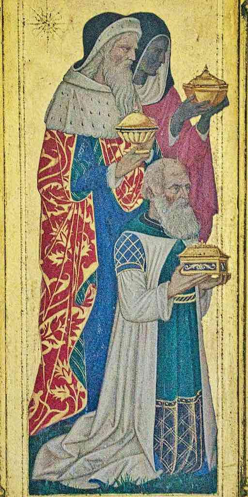 Altar Back Reredos Three Kings Magi Wise Men Christopher Webb 20th Century Brentor