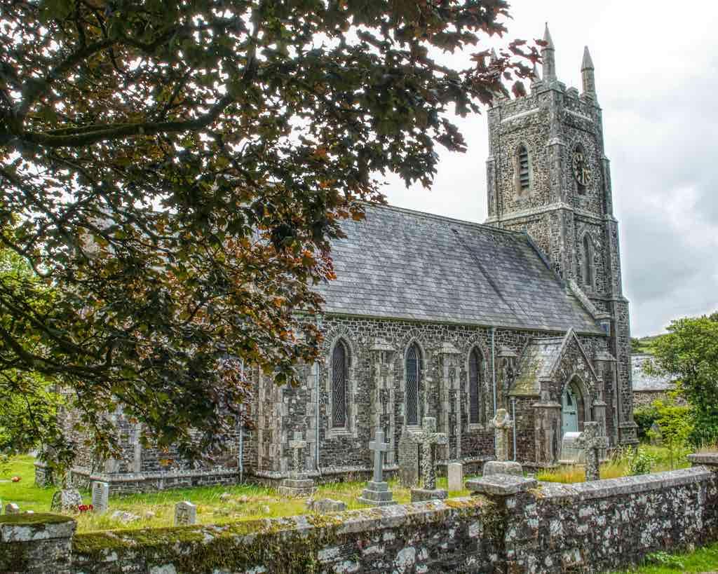 Brentor Christ Church built in 1856