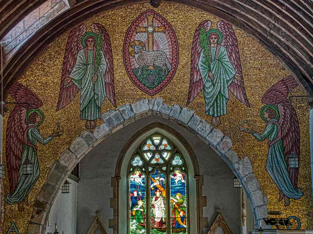 The stunning Selwyn Image mosaic from the early 1900s