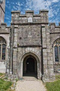 Porch Parvise Door Stonework Granite 15th Century Medieval Manaton