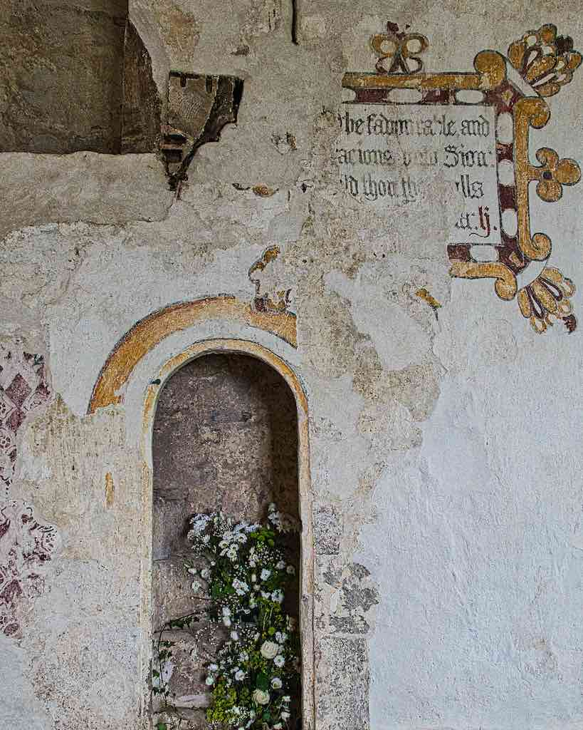 Age and beauty, the 15th century rood stairs with later wall paintings
