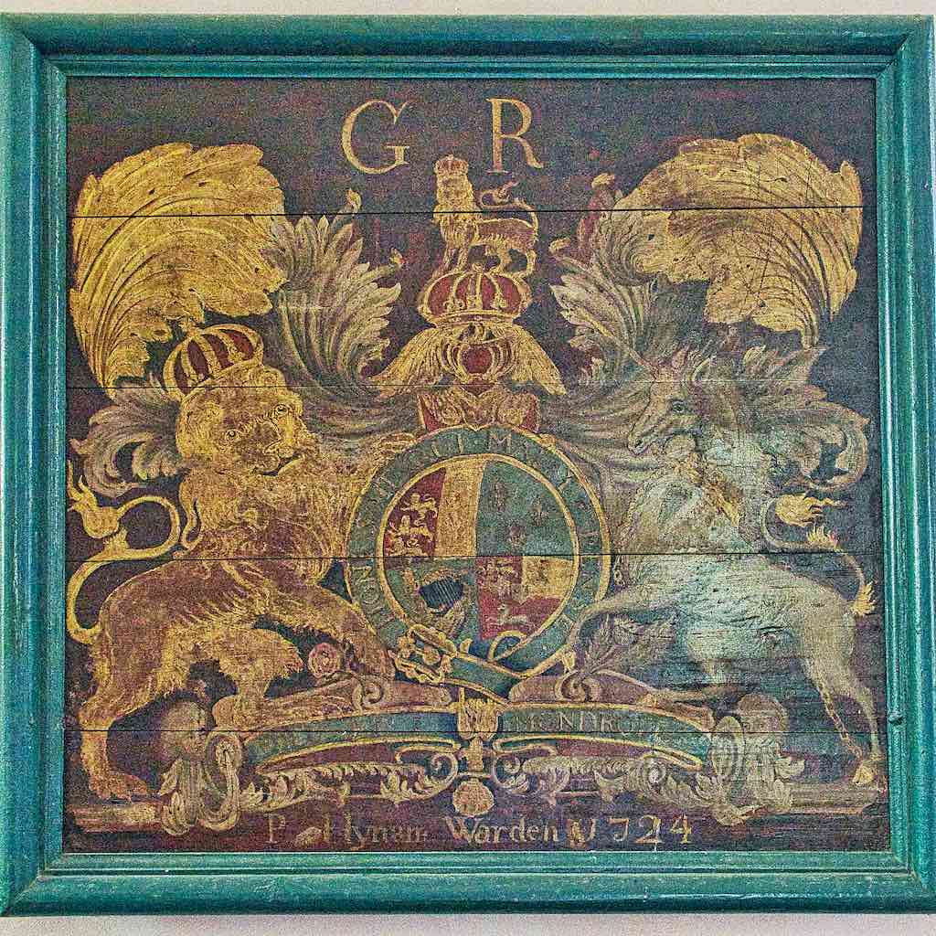 A George I coat of arms