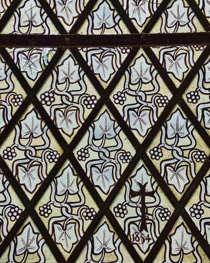 Delightful Victorian quarry glass