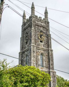 West Tower Stonework Victorian 19th Century Brentor