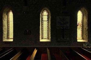 Windows Interior Light Peace Victorian 19th Century Brentor