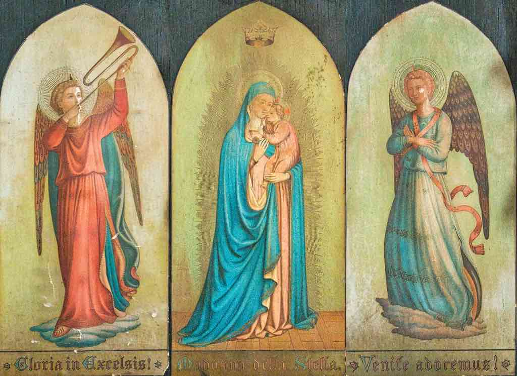 Mary and her angels