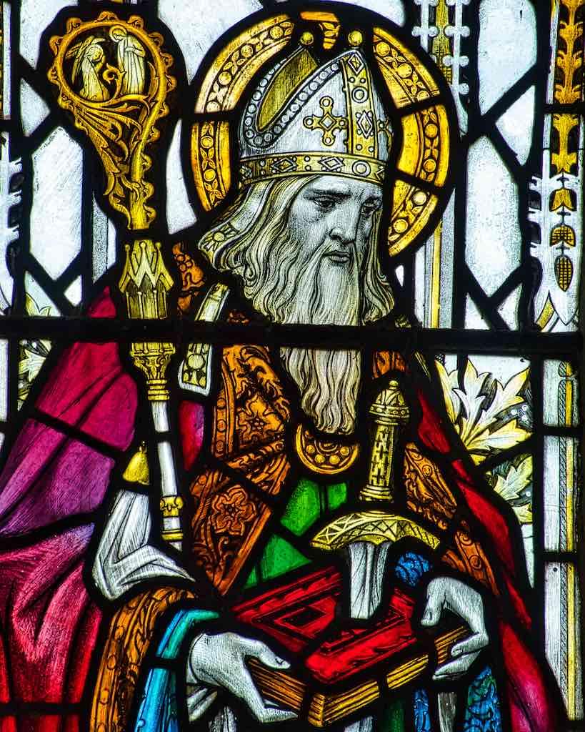 St Boniface, the patron saint of Devon