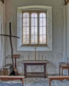North Chapel Altar Window 15th Century Medieval Dowland
