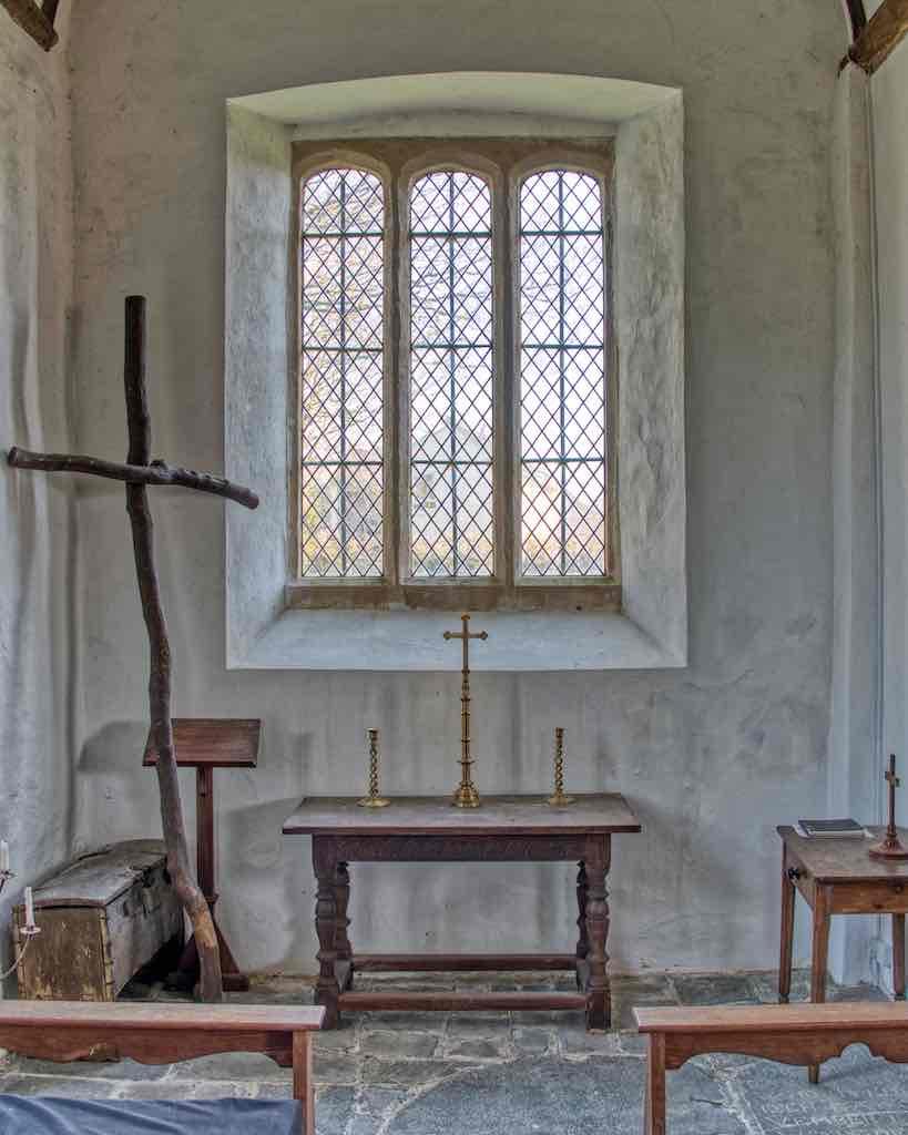 The north chapel, beautifully