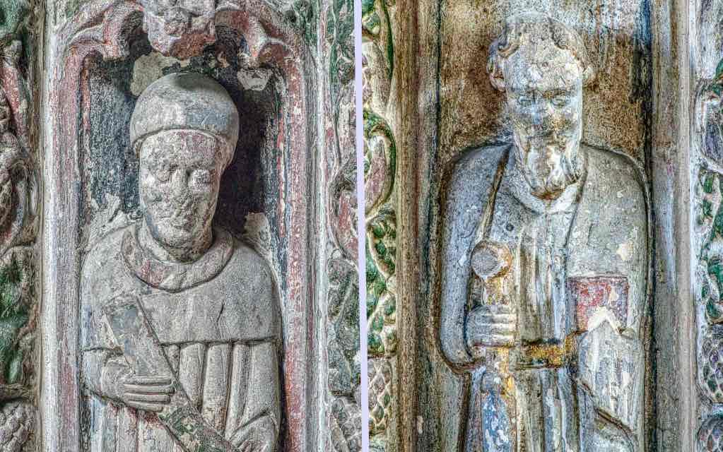 Saints in the pulpit