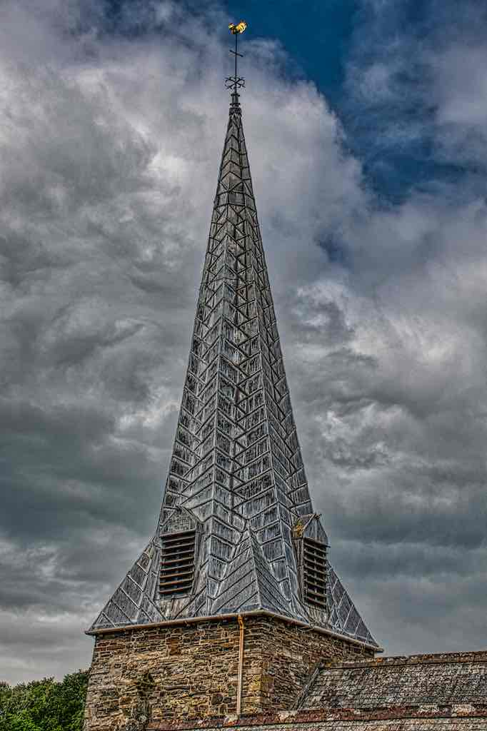Spire has been tree-ring dated to the 14th century