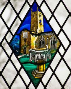 Stained Glass Church 20th Century Cheriton Fitzpaine
