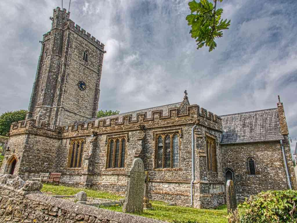 The very pretty Membury Church of St John the Baptist